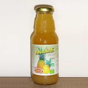 Pur jus d'ananas - bio - bouteille de 30 cl
