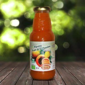 Nectar bio fruit de la passion et papaye