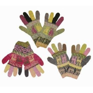 gants épais - teinture naturelle
