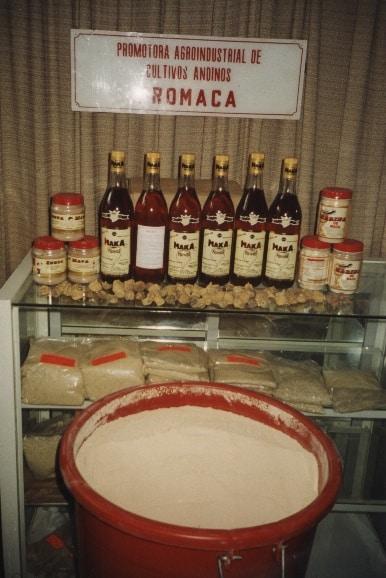 Les différents produits à base de maca