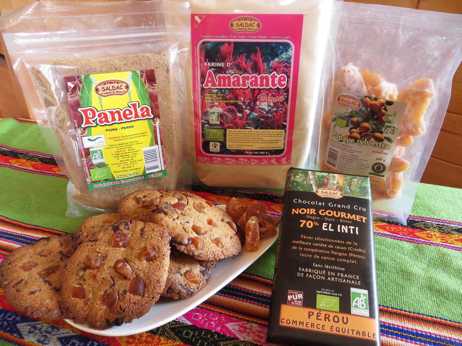 Cookie des Incas - Commerce Equitable - SALDAC