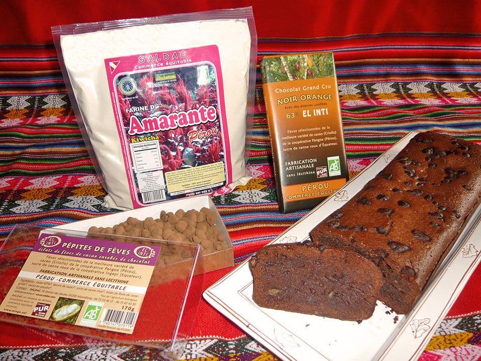Gâteau au chocolat El Inti