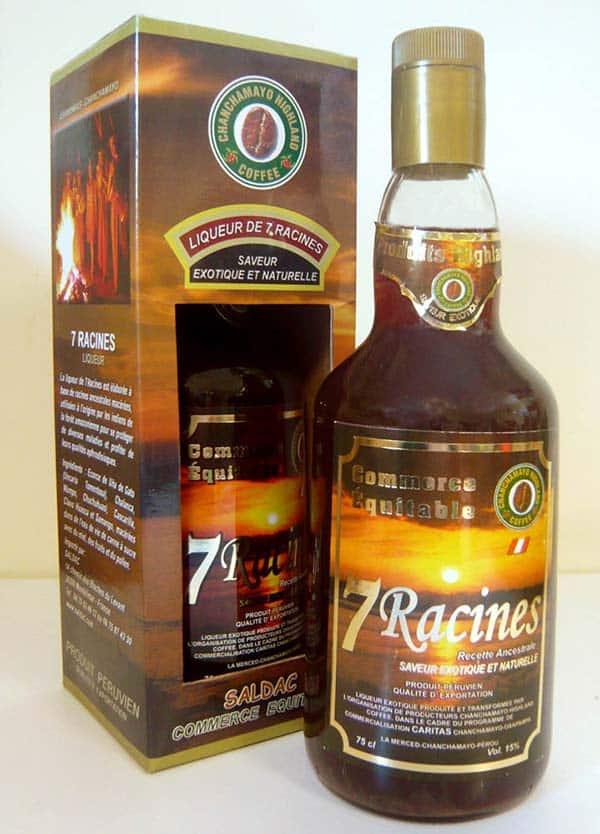 La liqueur de 7 racines - saldac