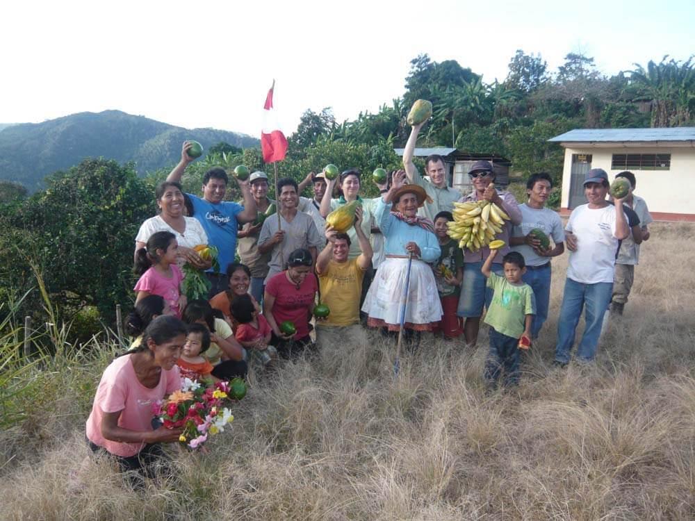 A Rio negro avec les producteurs de corossol, 2010