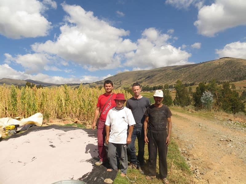 Chez les producteurs de Quinoa