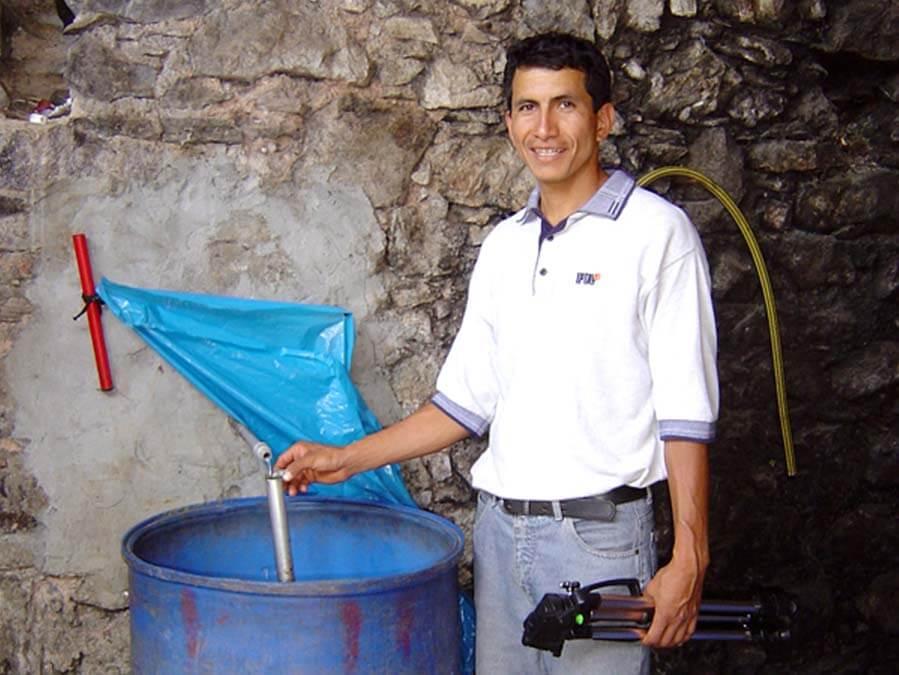 Il faut tester la qualité de l'eau de vie !