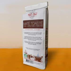 Maté toasté - biologique - brésil - 100g