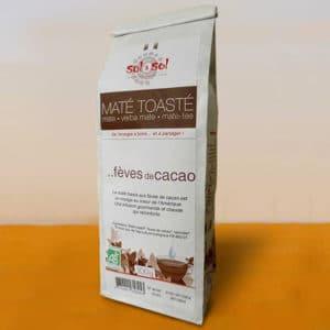 Maté toasté aux fèves de cacao - biologique - brésil - 100g